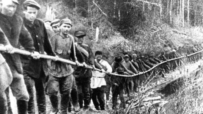 Tù khổ sai làm kinh tế xây dựng chế độ 'xã hội chủ nghĩa' Liên Xô
