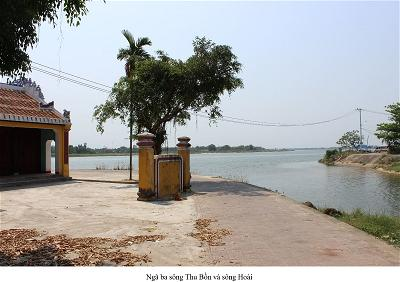 Ngã Ba sông Thu Hoài và sông Bồn