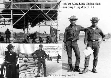 Hậu cứ rừng Lăng Quảng Ngãi sau lưng trung đoàn 4 bộ binh