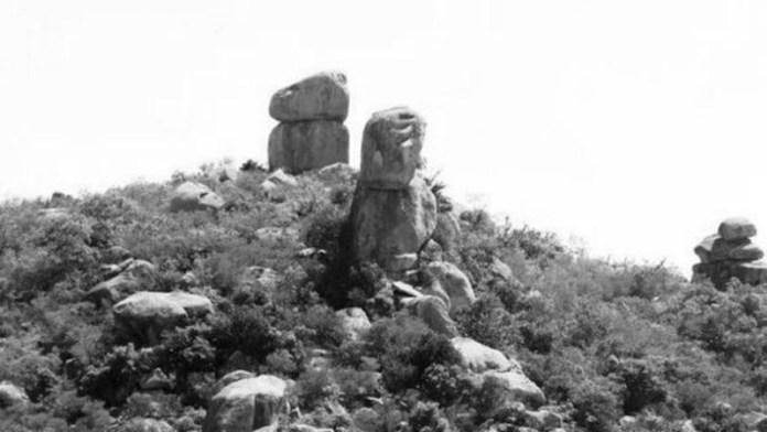 Hòn đá mặt quỷ.